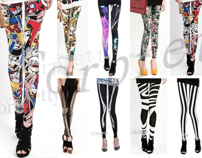 cb2992a43532d Funky tights - Leggings : Mince His Words