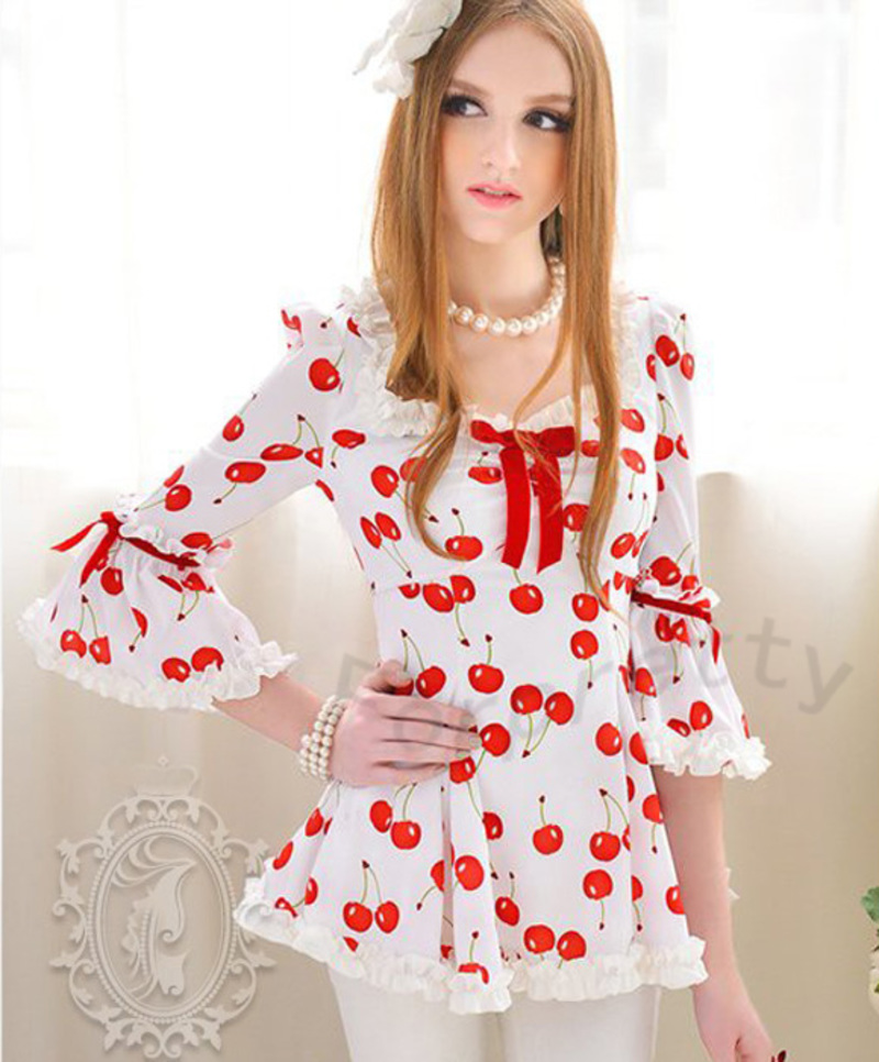 Блузка Романтического Стиля